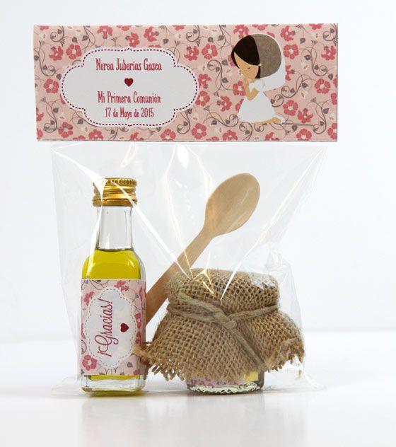 Aceite regalo para invitados recuerdos primera comuni n - Regalos para invitados boda originales ...