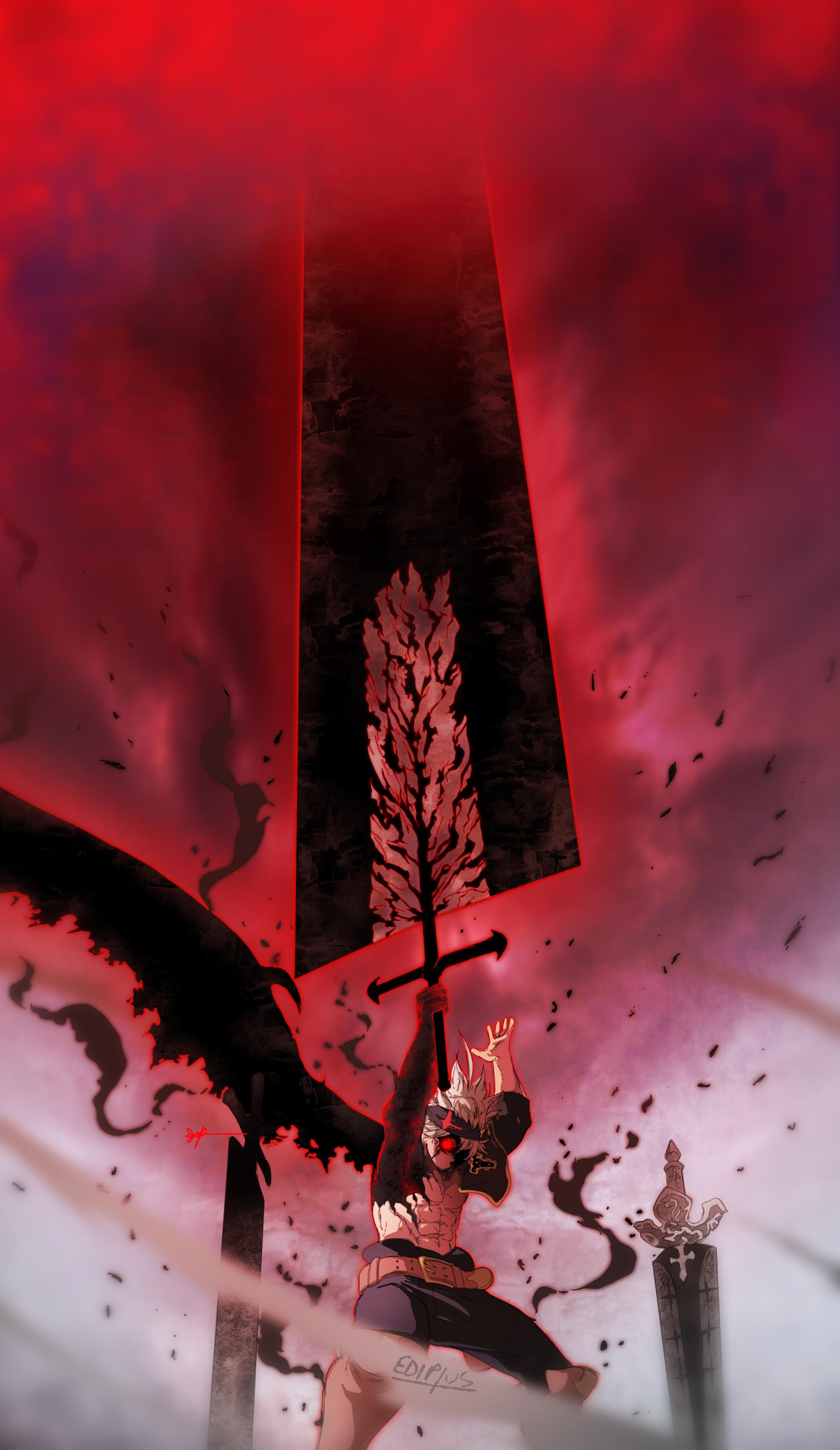 Asta Demon Black Clover 230 By Ediptus Black Clover Manga Black Clover Anime Anime Wallpaper