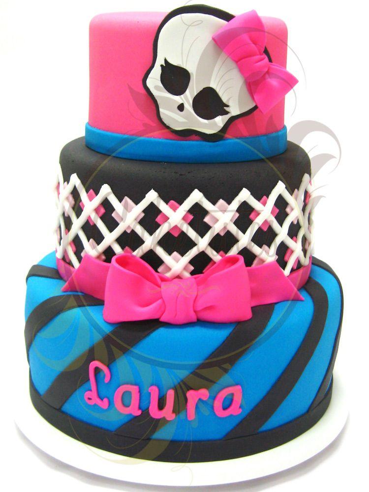 Monster High Cake - Caketutes Cake Designer: Bolo Monster High