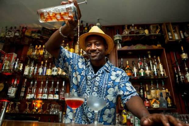"'Being an ""edu-tainer"", I am fortunate to be in constant demand by various rum companies and organisations' (Picture: Ian Burrell)"