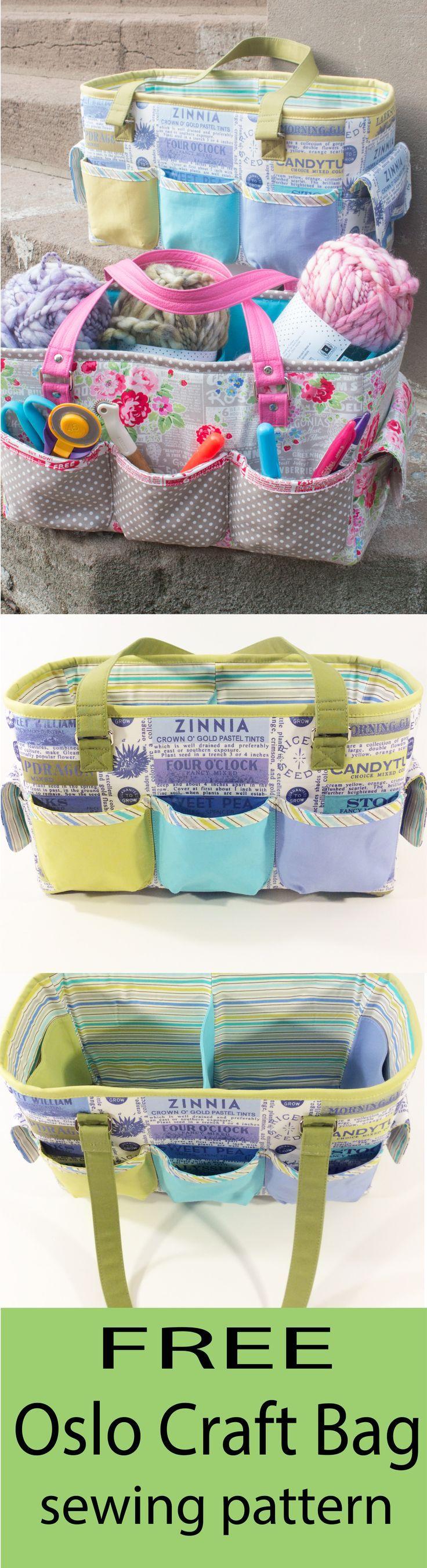 Free oslo craft bag pattern bag sewing patterns free sewing and free sew sweetness oslo craft bag sewing pattern jeuxipadfo Choice Image