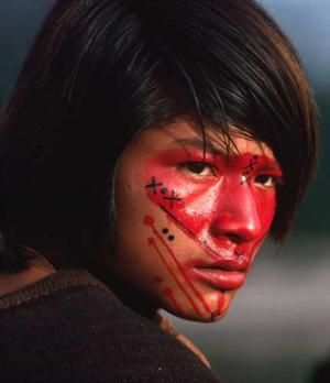Indigenous Peruvian girl