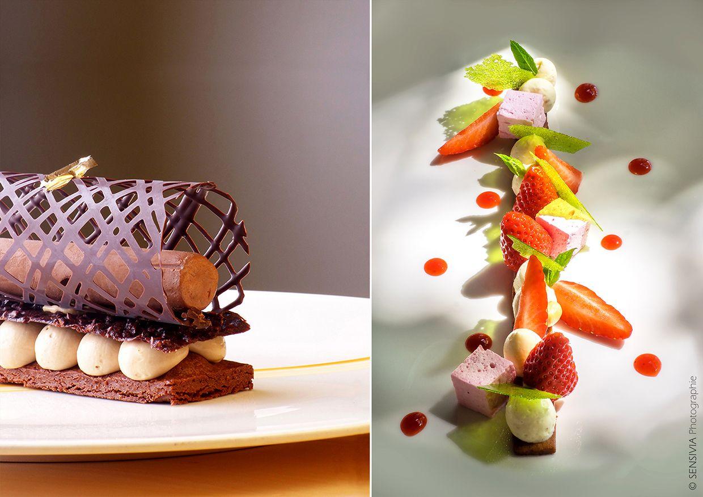 Dessert gastronomique chef étoilé Dominique Bucaille | Gastronomie ...