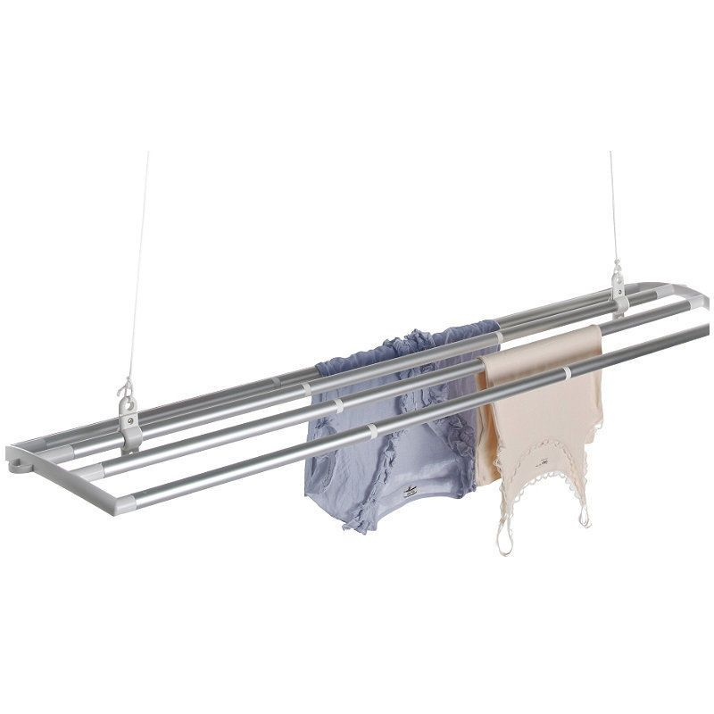 """If you've got a ceiling, you've got room for a LOFTi! Easy self-assembly – fixtures included.155 x 39cm (61"""" x 15¼""""). Use the simple pulley system to adjust the height. If you've got a ceiling, you've got room for a LOFTi! 