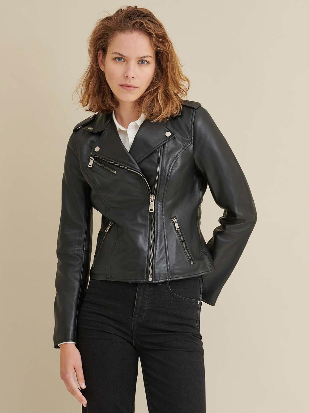Madeline Asymmetrical Leather Jacket V2 Asymmetrical Leather Jacket Leather Jacket Leather Jacket Girl [ 1333 x 999 Pixel ]