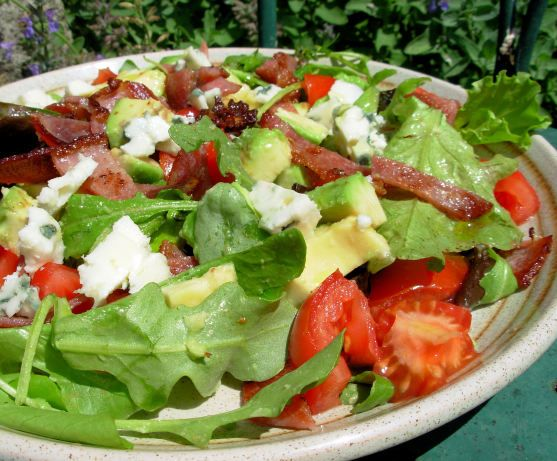 Spinach Salad With Blue Cheese And Bacon Recipe - Food.com