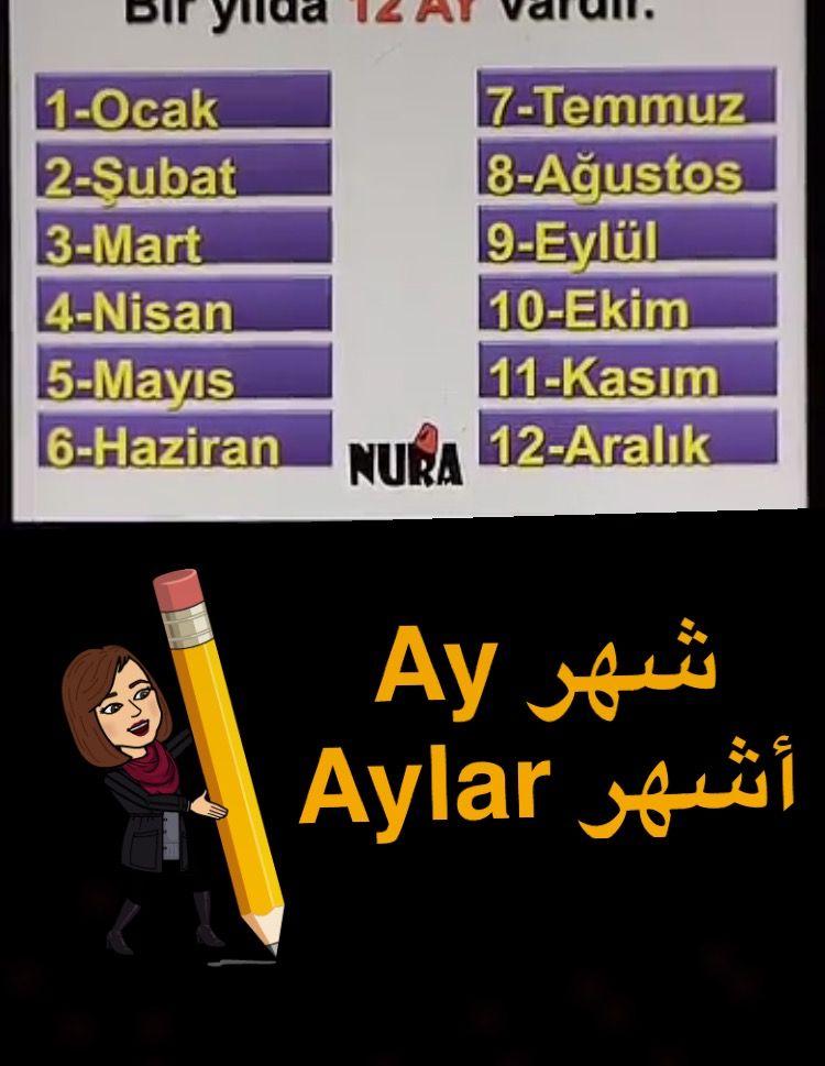 Pin By Asma Dalla On اللغه التركيه Turkish Language Learn Turkish Language Learn Turkish