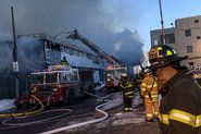 Seven-Alarm Brooklyn Warehouse Fire Burns Official Records