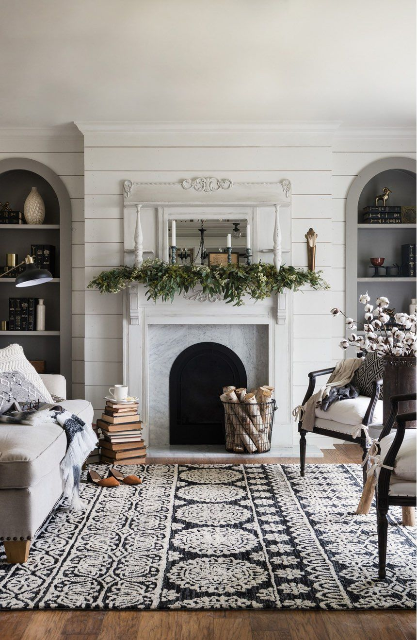 Love This Gorgeous Rug From Joanna Gaines Magnolia Home Collection The Perfect Way To Add Warmth And Texture A Farmhouse Style Room