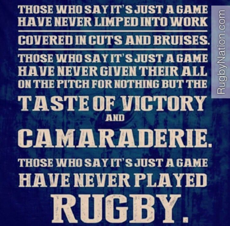 Pin By Mike La Vecchio On Sports Rugby Quotes Rugby Sport Rugby Players