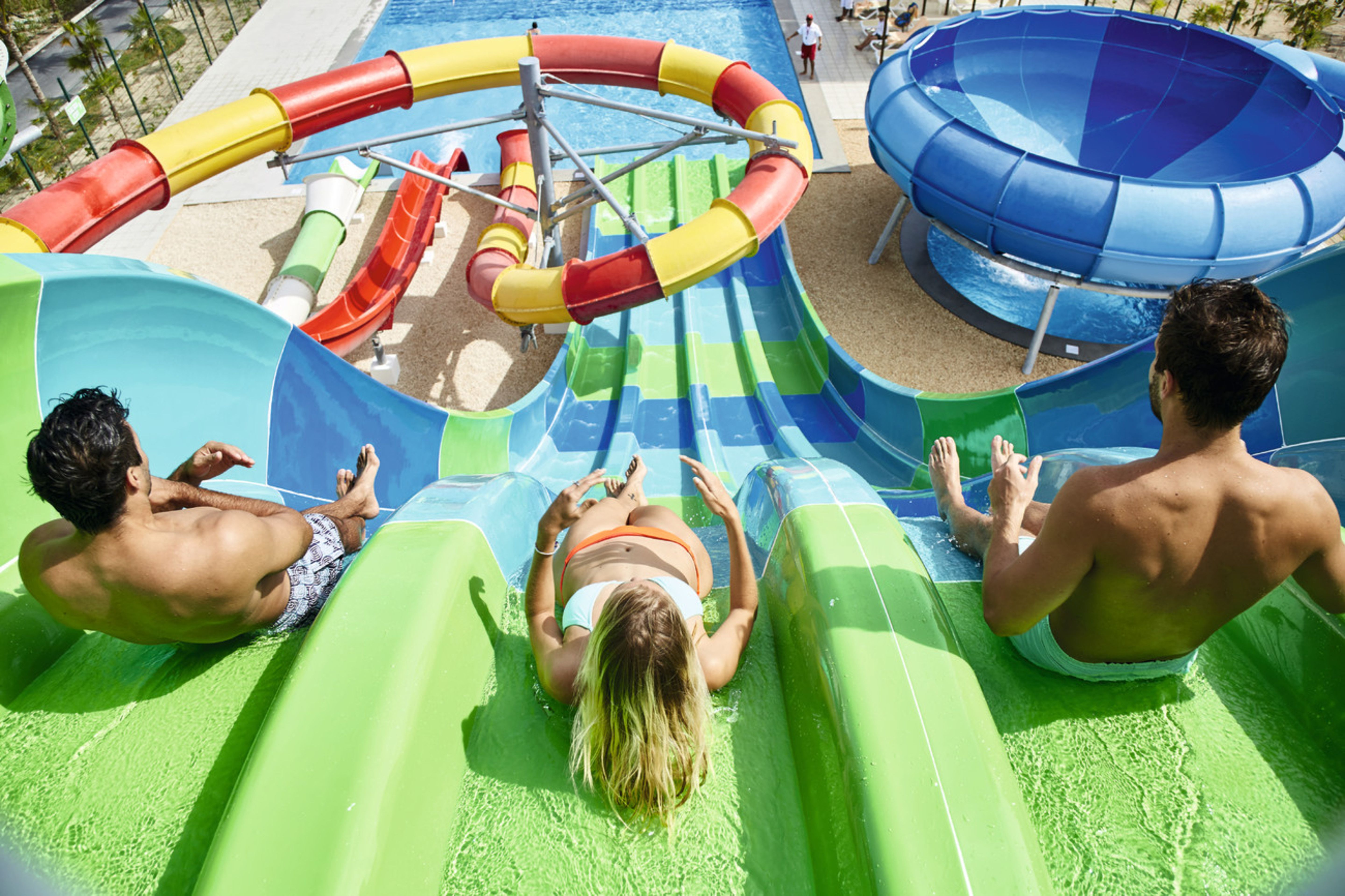 Water park riu dunamar cancun mexico splash water for Funnest all inclusive resorts