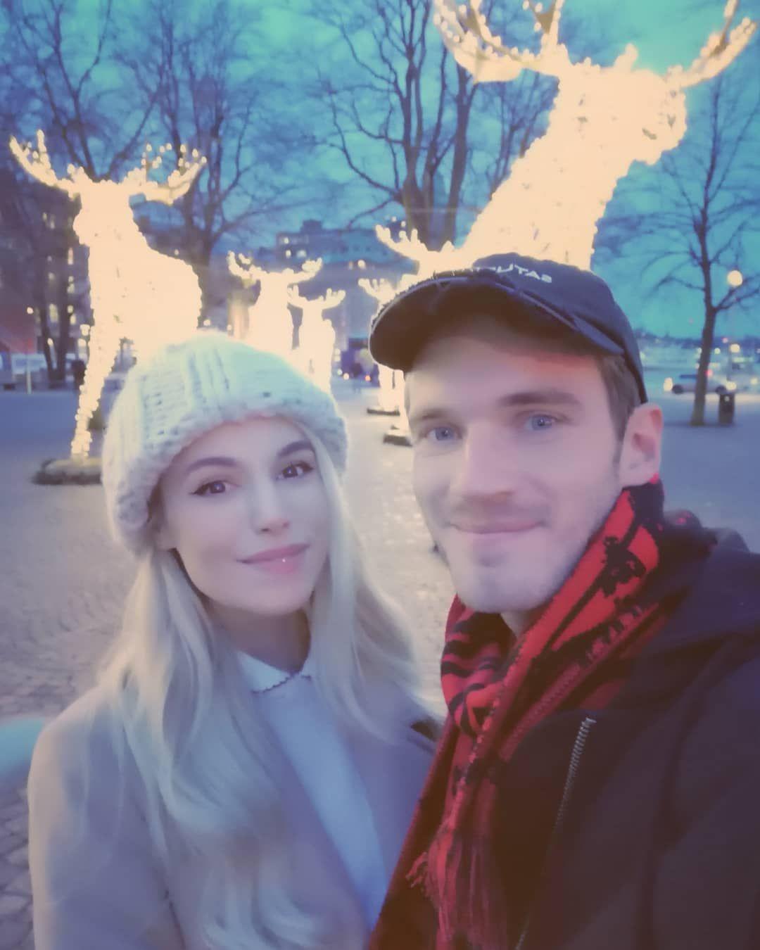 Marzia Bisognin and Felix Kjellberg | Melix in Sweden ...