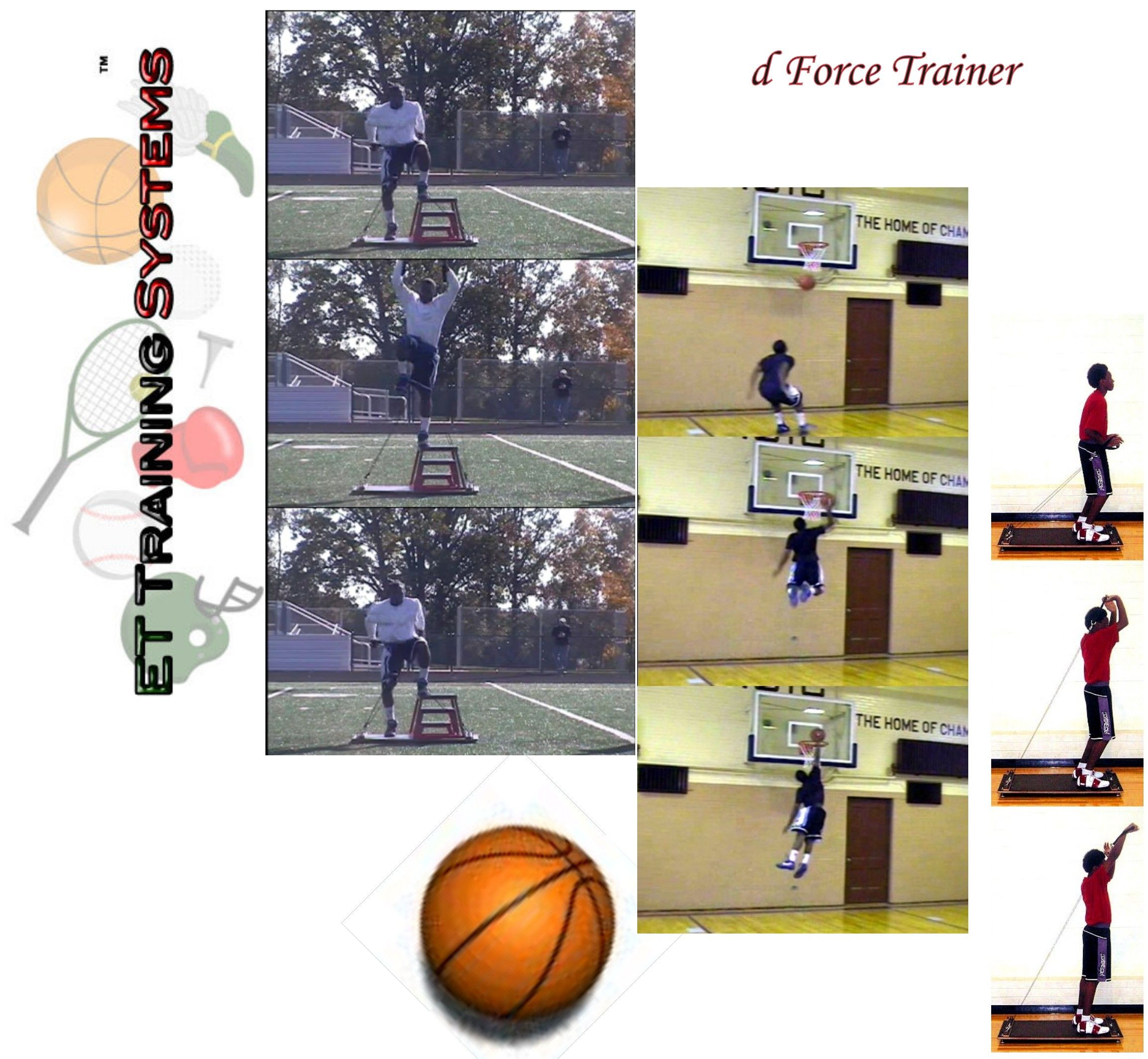 The Basketball System builds sport-specific fast twitch muscle