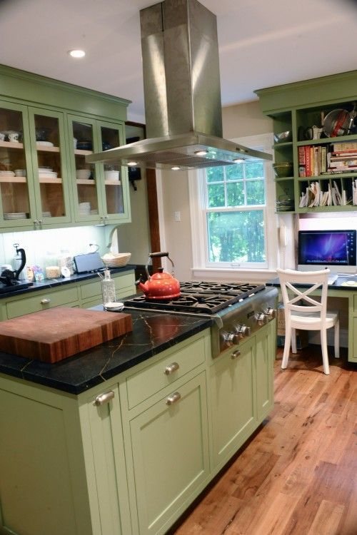 This Is The Shade I Like Kitchen Design Green Kitchen Cabinets Traditional Kitchen Design