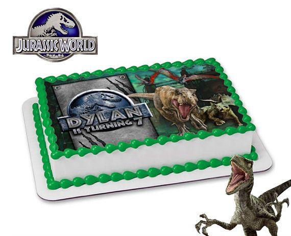 Jurassic World Cake Topper DIGITAL FILE 2 Party Park