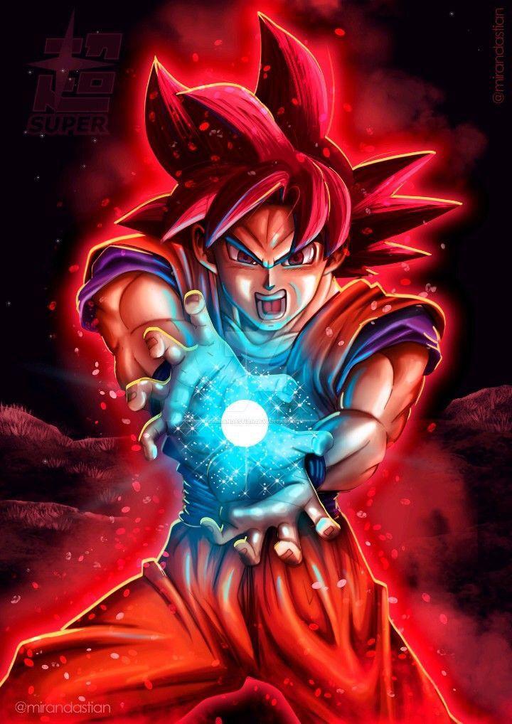 Goku Super Saiyan God Anime Dragon Ball Super Dragon Ball Goku Goku Wallpaper