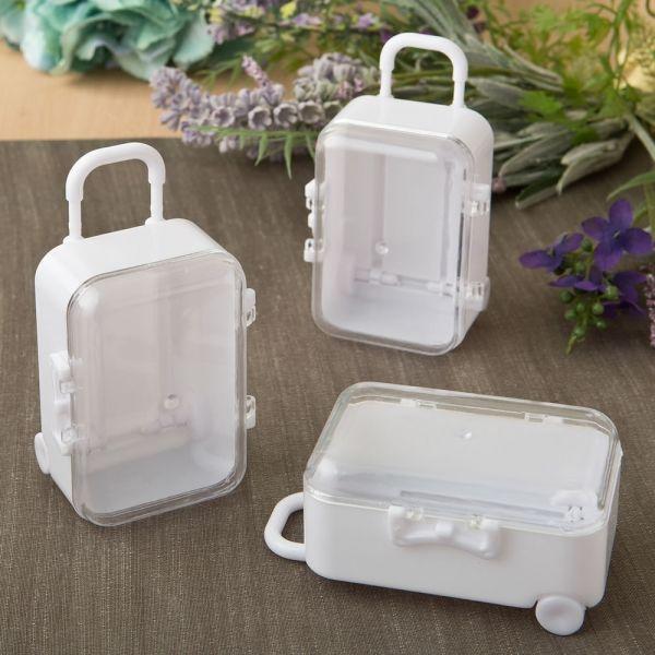 Suitcase Favor Box Suitcase Favor Boxes Suitcase Favor Travel Favor Destination Wedding Favor Small Kraft