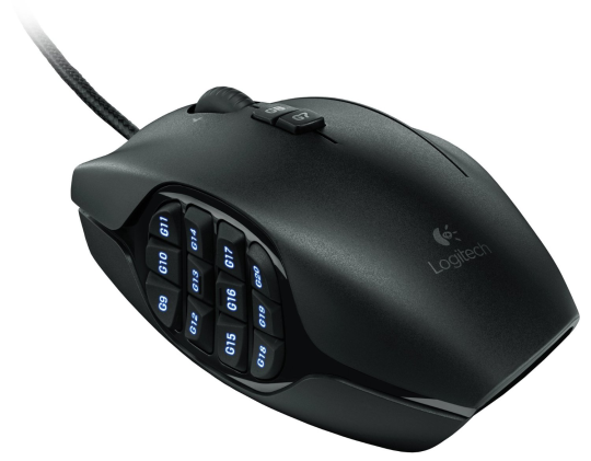 Today Deals 63 OFF Logitech G600 MMO Gaming Mouse Black