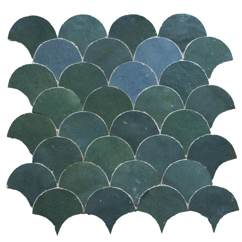 Zellige Basic TR9 | Wall tiles kitchen bathroom | Pinterest ...