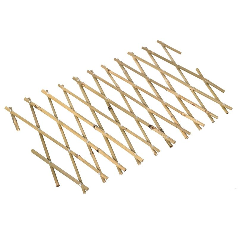 Lattice Makers 1800 X 900mm Bamboo Expanding Trellis With Images Expanding Trellis Trellis Lattice