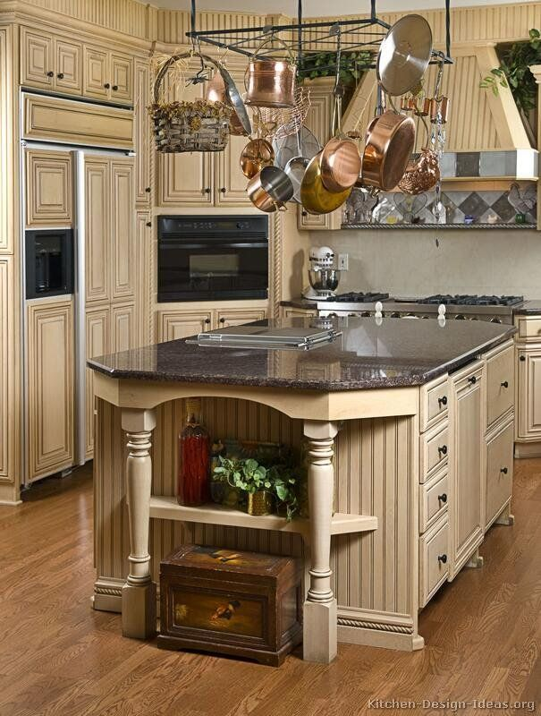 Traditional Antique White Kitchen Welcome This photo