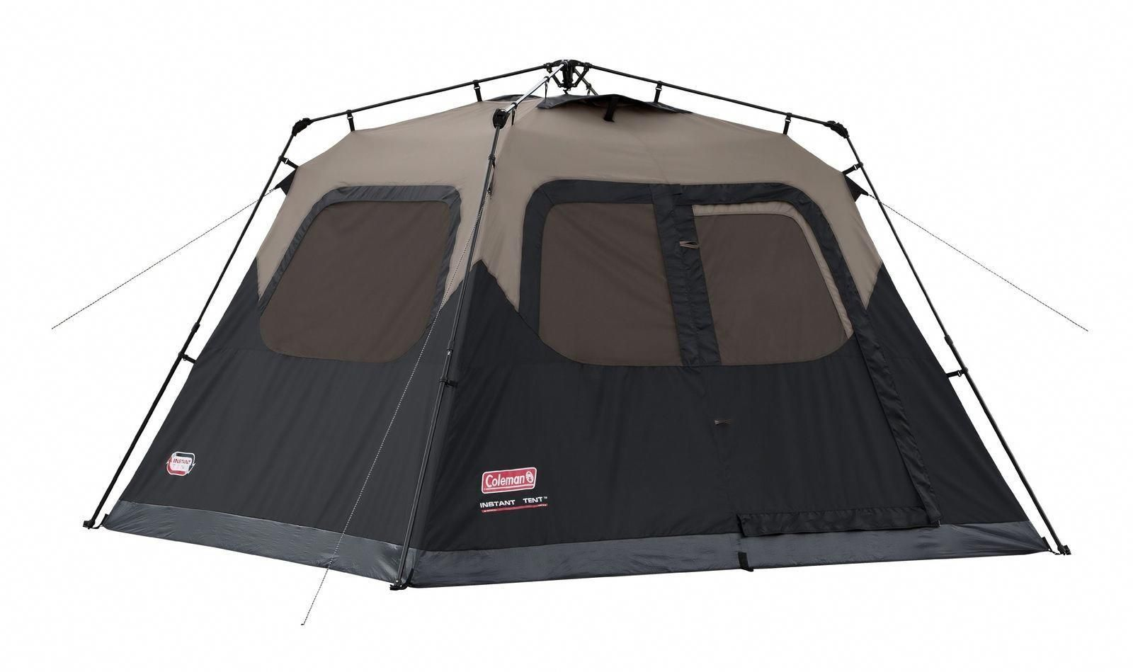 6 Person Coleman Instant Cabin Tent Very Durable And