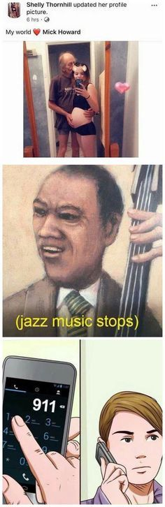 Jazz Music Stops With Images Best Funny Photos Jazz Music