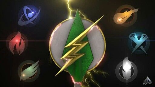 Symbols of #legendsoftomorrow #theflash #arrow
