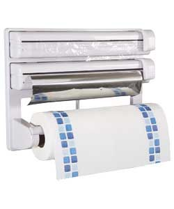 Kitchen Roll, Clingfilm, Tin Foil Dispenser. 499 Argos