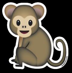 Monkey Emojistickers Com Emoticones Emoji Emojis Emoji