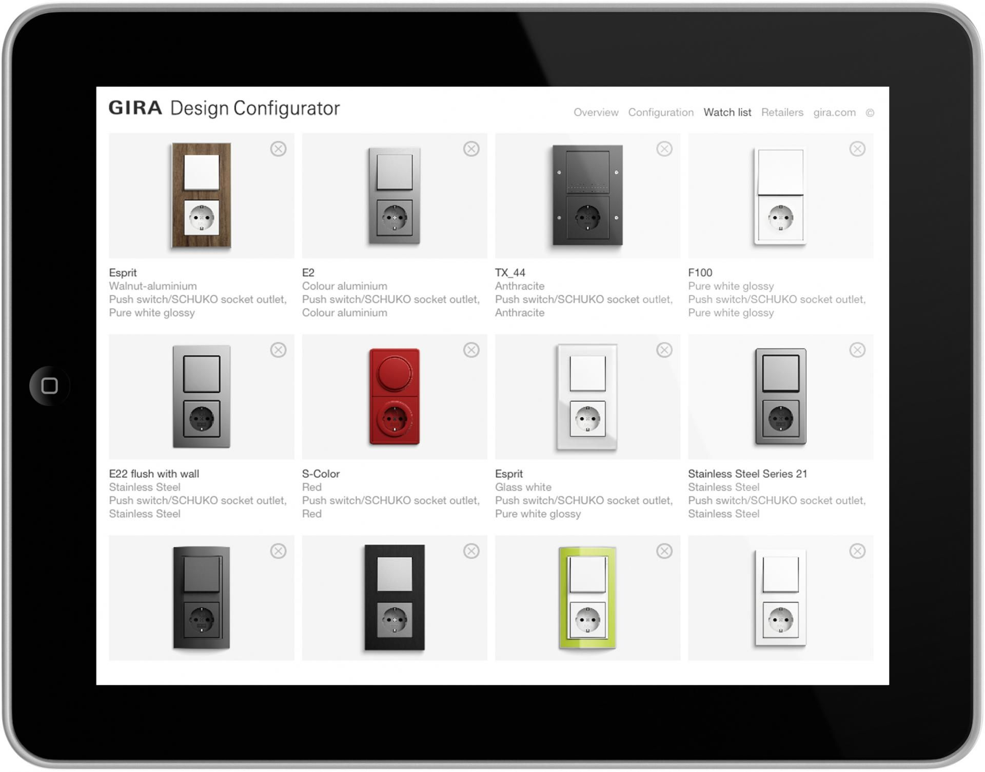 The Gira Design Configurator Is An Ideal Planning Tool For Architects And Room  Planners And Is Exhibited At #ecobuild #software #app #ipad #socket #switch