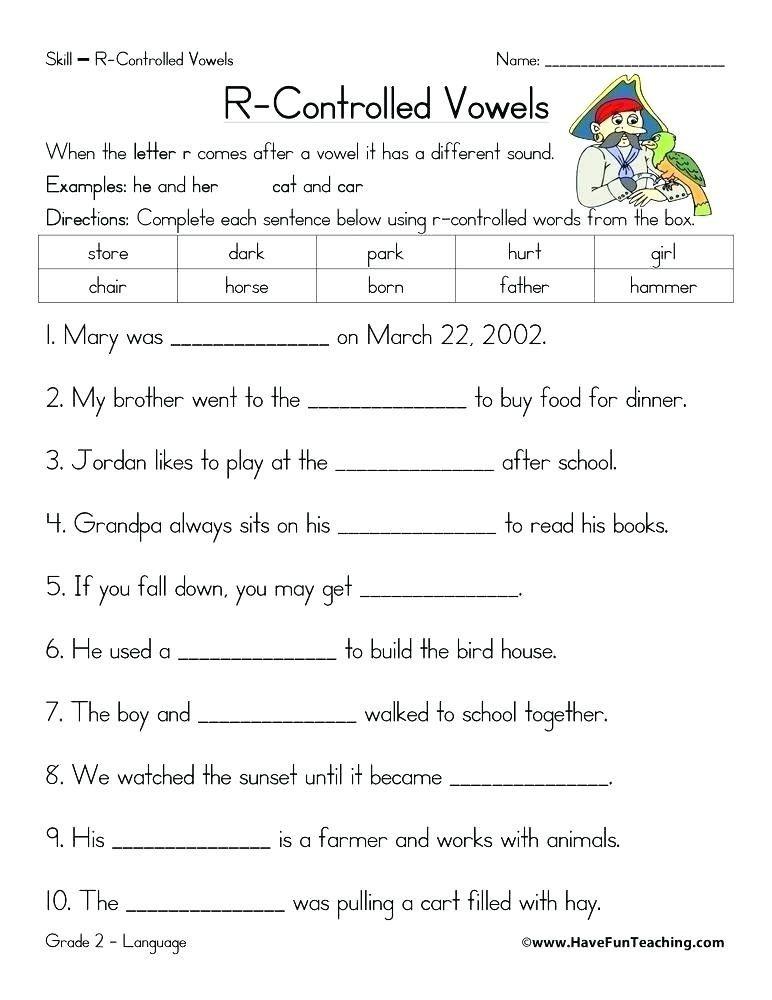 15+ Vowels Worksheets For Grade 4