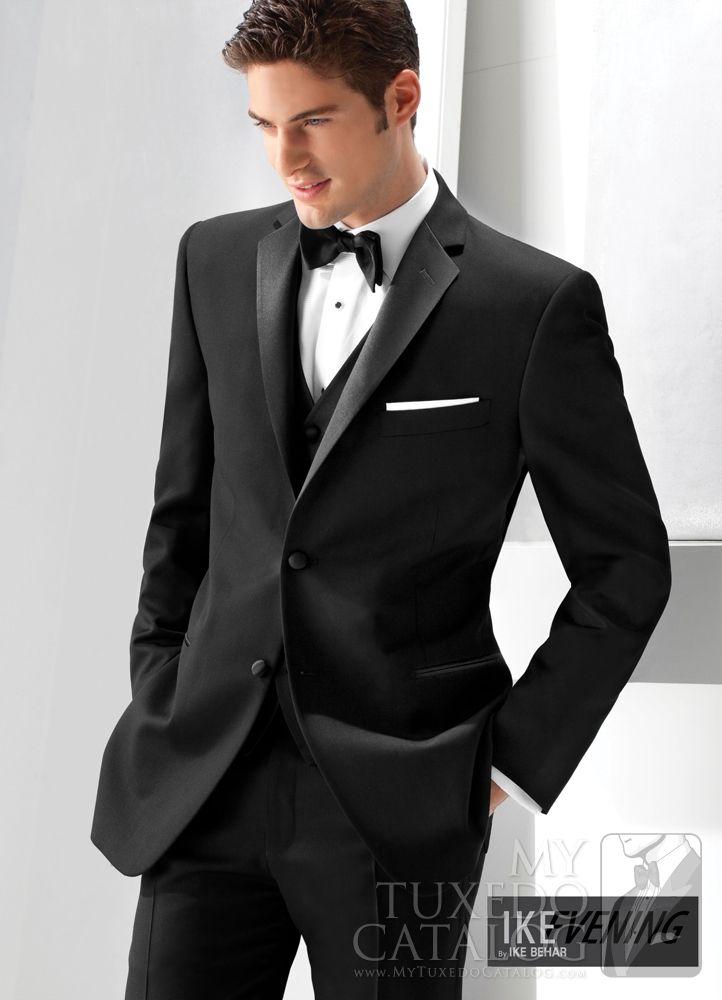 Black \'Parker\' Slim Tuxedo from http://www.mytuxedocatalog.com ...