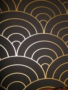 Black And Gold Wallpaper, Carlisle Wallpaper, Foyer