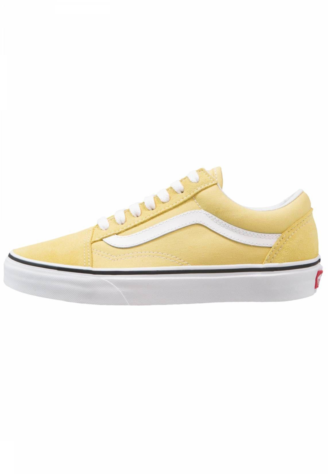 Vans. OLD SKOOL Sneakers laag dusky citrontrue white