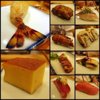 """Ginza Sushi Ko Honten 52 Photos Sushi Bars Ɋ€åº§6 3 8 Ɯ‰æ¥½ç""""ºé§… ĸå¤®åŒº Ɲ±äº¬éƒ½ Japan Restaurant Reviews Phone Number Yelp Ginza Sushi Japan Sushi (1 tuna, 1 salmon, 1 yellowtail, 1 crab stick, 1 surf clam, 1 white tuna, 1 mackerel) $16.95. pinterest"""