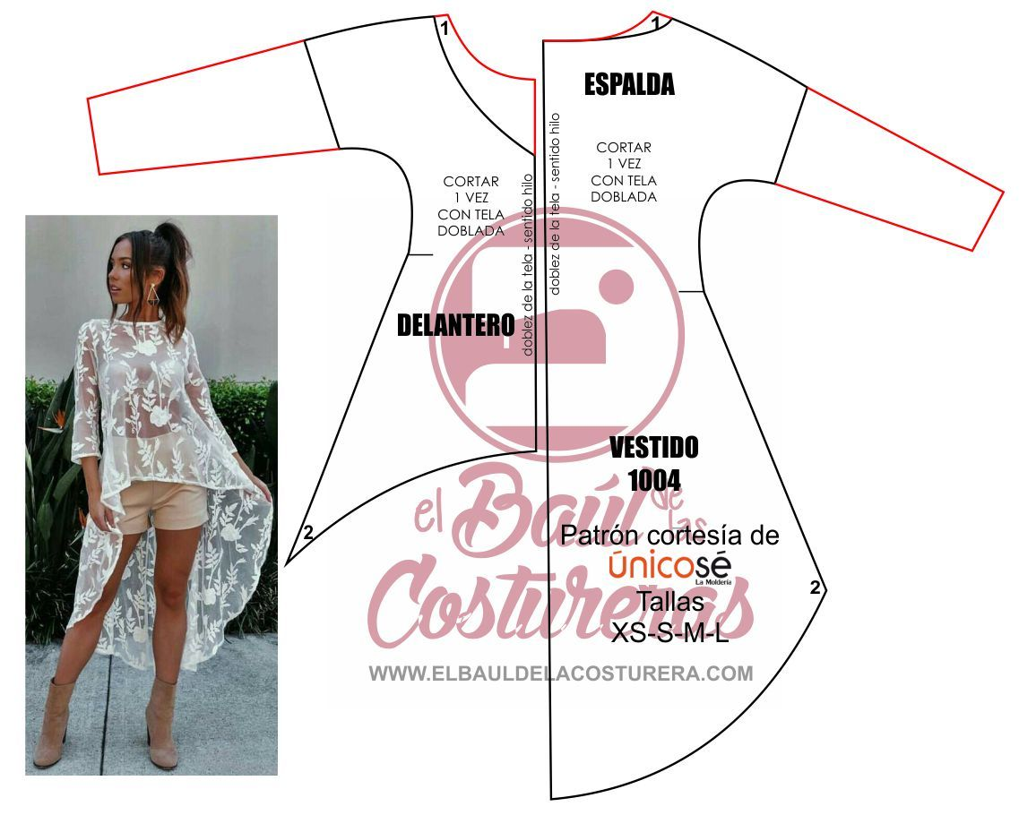Blusa asimétrica manga tres cuartos | Vestidos largos | Pinterest ...