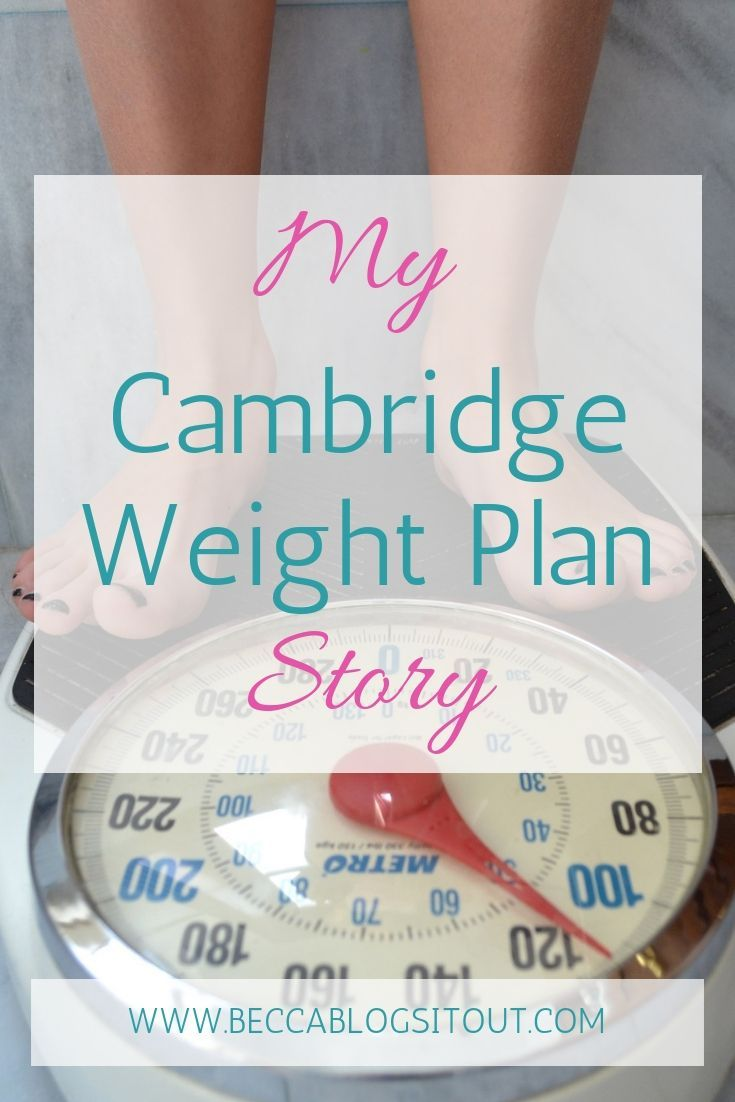 My Cambridge Weight Plan Story