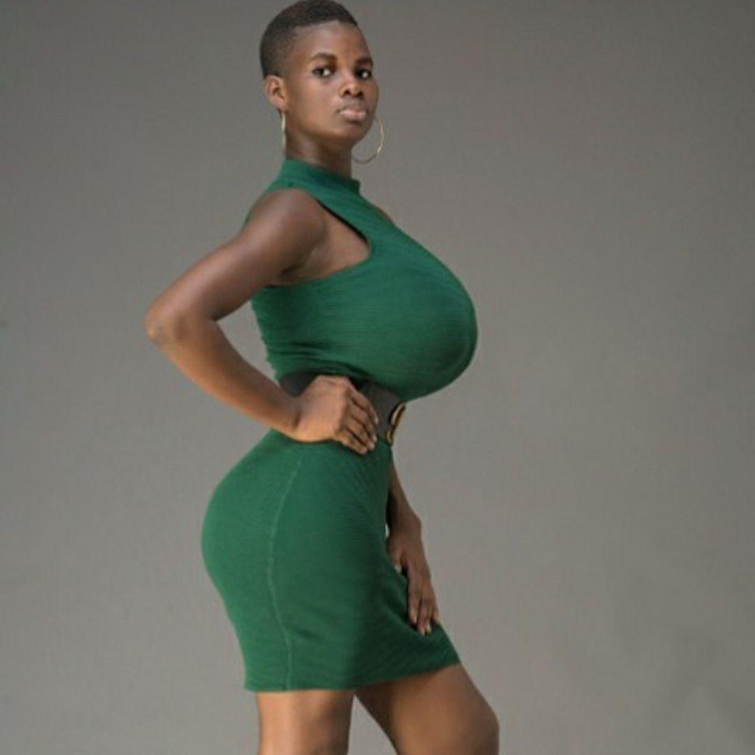 Skinny slim and busty women