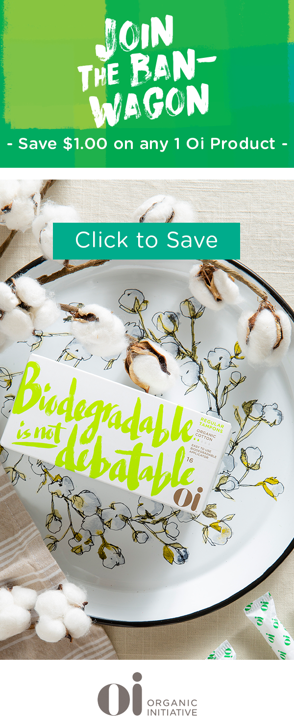 Biodegradable is not debatable  Luckily, Organic Initiative