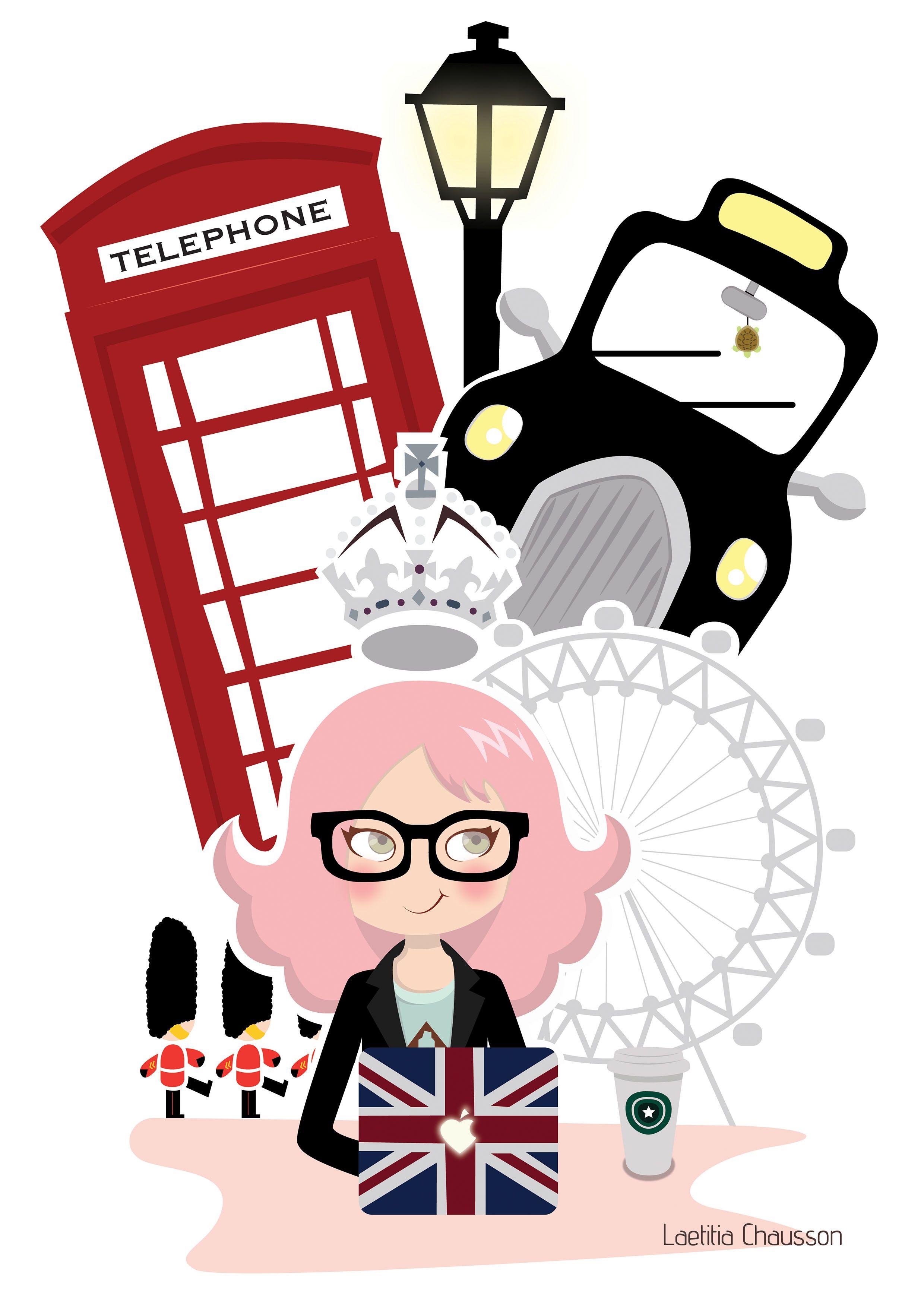 London by Laetitia Chausson