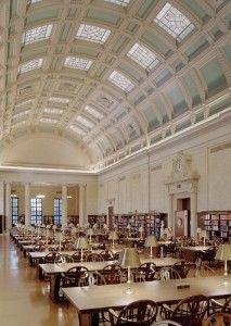 Reading Room at Widener Library, Harvard University (Cambridge, Massachusetts)