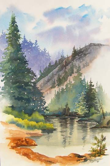 Beautiful Watercolor Pictures Watercolor Pictures