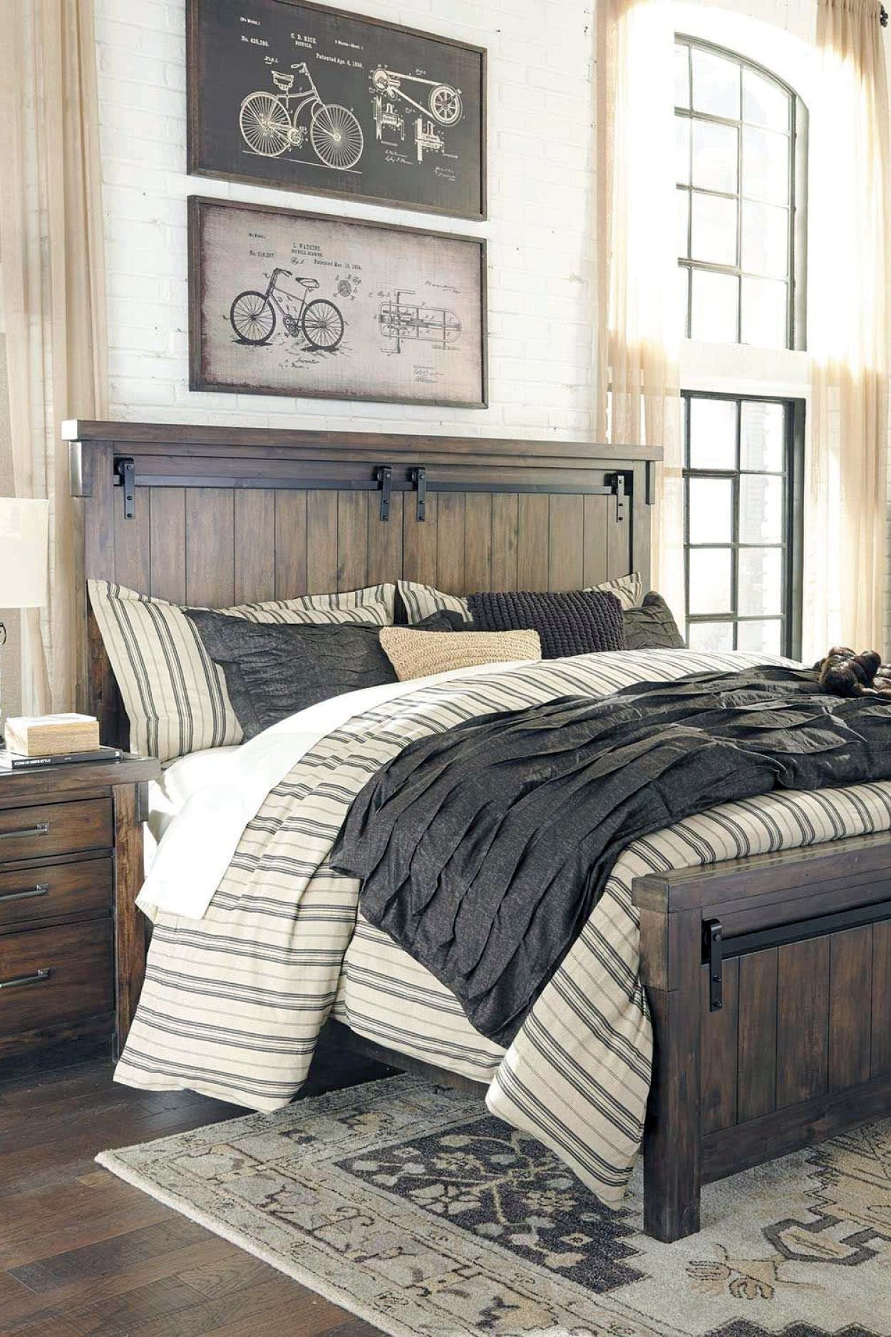 Discover Urban Rustic Bedroom Furniture Only In Homesaholic Design