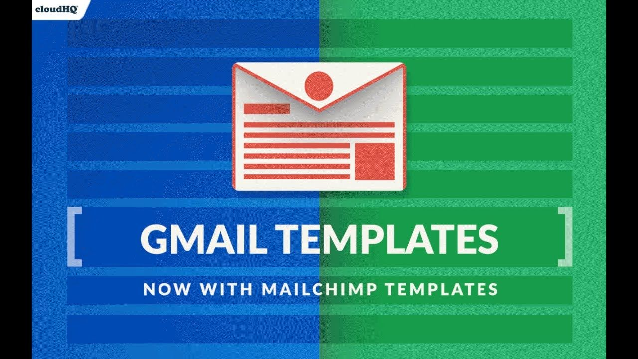 Import And Share MailChimp Templates In Gmail By CloudHQ CloudHQ - Mailchimp import template