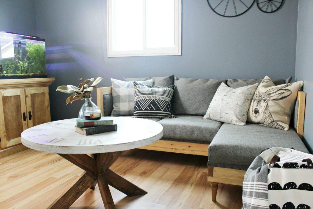 wohnzimmer ideen braunes sofa  source of fortune