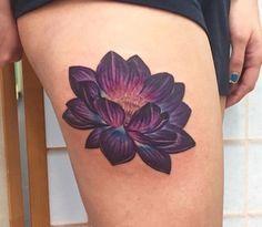 Dark Lotus Tattoo Ideas Purple Lotus Tattoo Lotus Tattoo Design