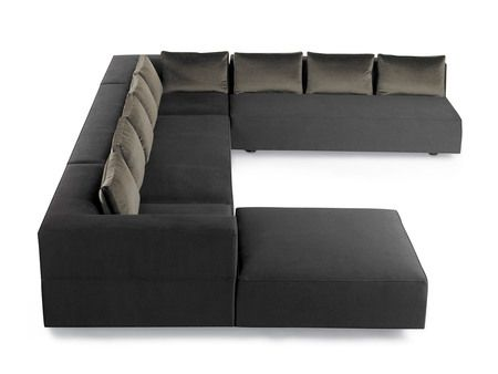 bright chair calvin sectional sofa the modern object 2016