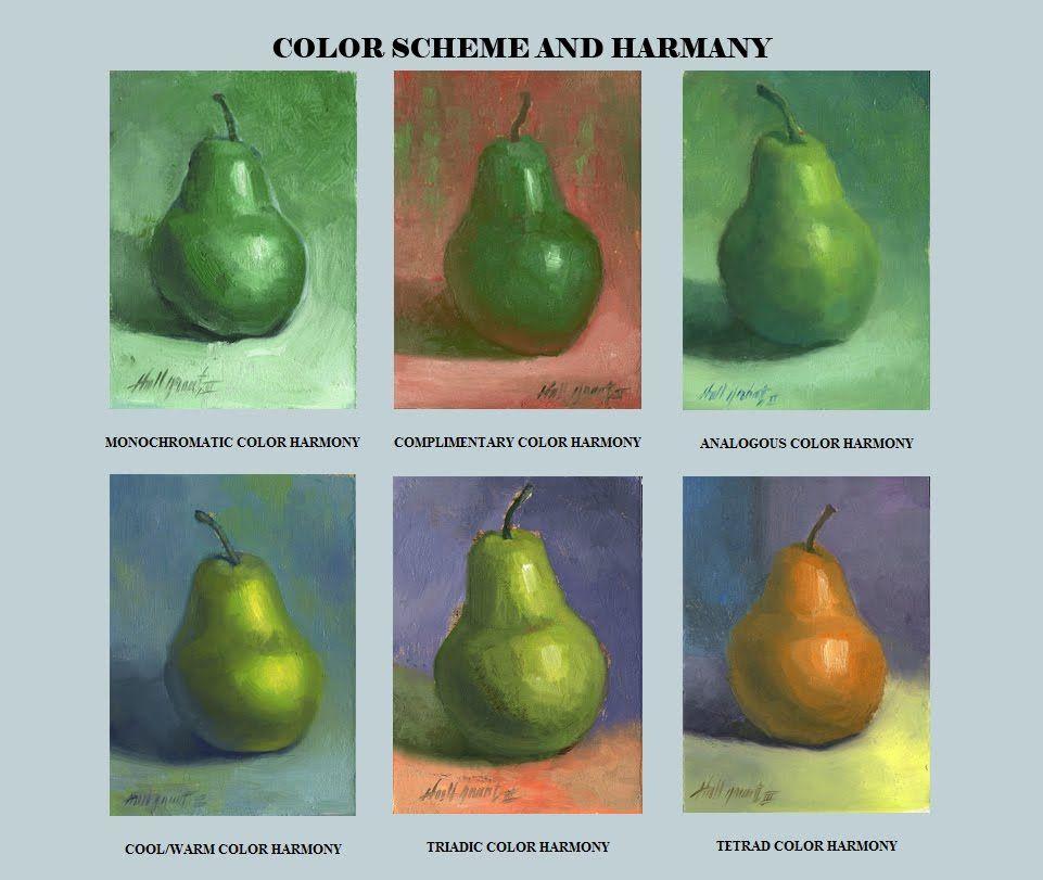 Harmonious Color Scheme Harmonies To Draw