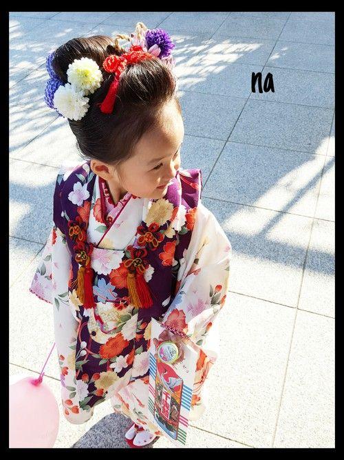 3歳の女の子向け七五三の髪型 日本髪や自宅でできるアレンジ紹介